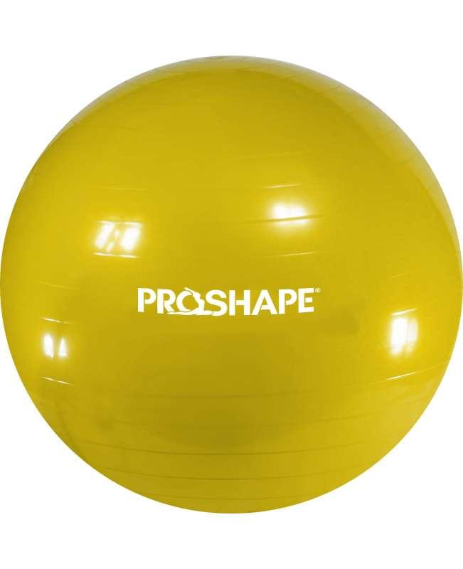 Piłka gimanstyczna do ćwiczeń Fitness ProShape Oliwkowa 55 cm + Pompka